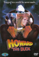 dvd диск с фильмом Говард Утка