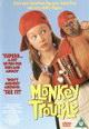 dvd диск с фильмом Неприятности с обезьянкой