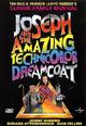dvd диск с фильмом Joseph and the amazing technicolor dreamcoat (r)